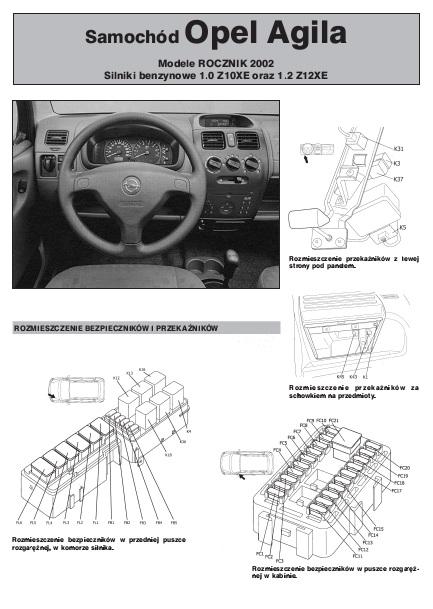 Schemat Elektryczny Opel Aqila Autoelektro Nr 79