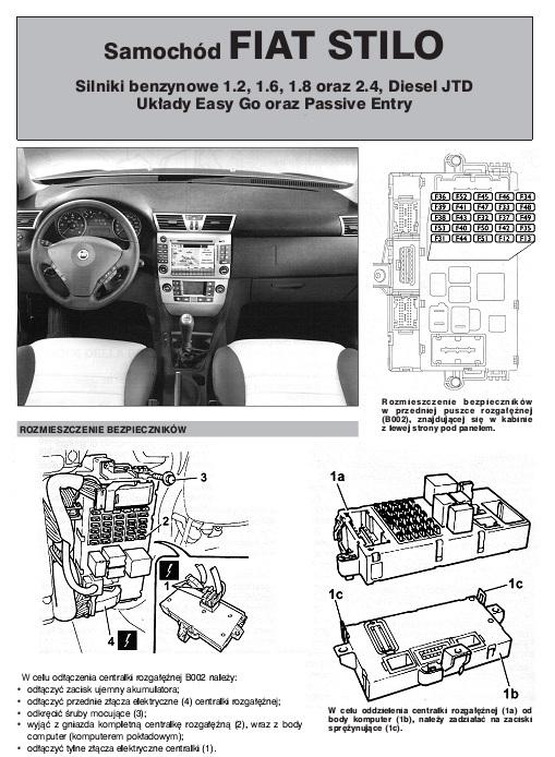 Schemat Elektryczny Fiat Stilo Autoelektro Nr 81 I 82